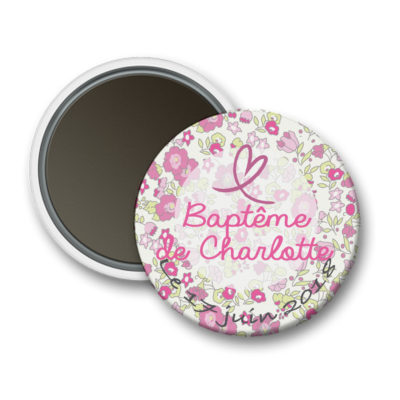 magnet-bapteme-liberty-rose